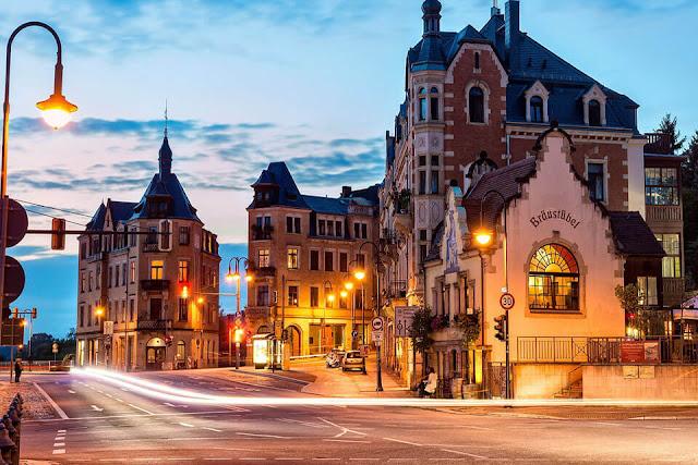 Say đắm trước cảnh đẹp của nước Đức