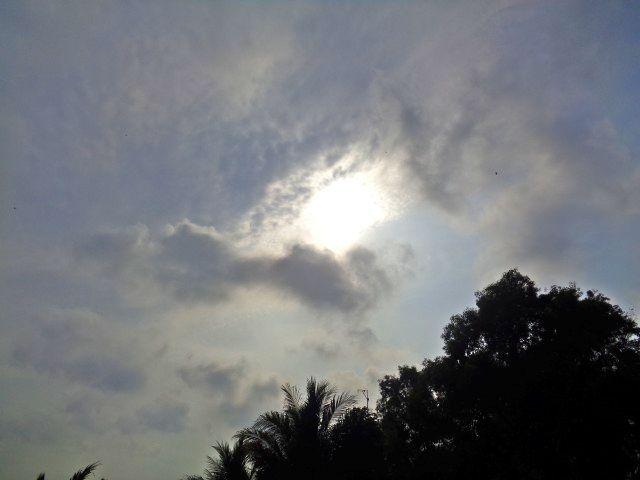 Pemandangan Langit Mendung Awan Hitam
