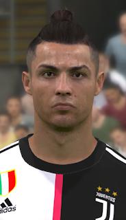 PES 2017 Faces Cristiano Ronaldo by WER