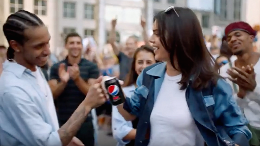"The ugly truth behind ""that"" Pepsi Ad."