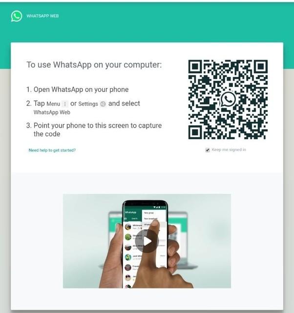 WhatsApp web - web.whatsapp.com