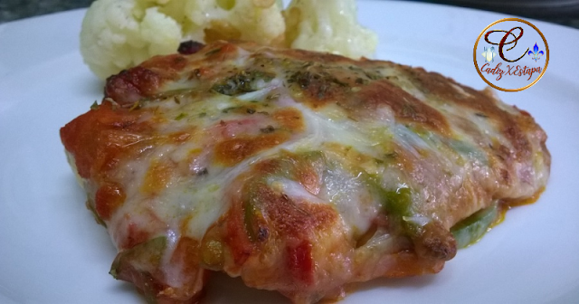 Pollo a la Pizza