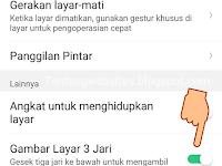 Cara Screenshot Realme tanpa tombol agar awet