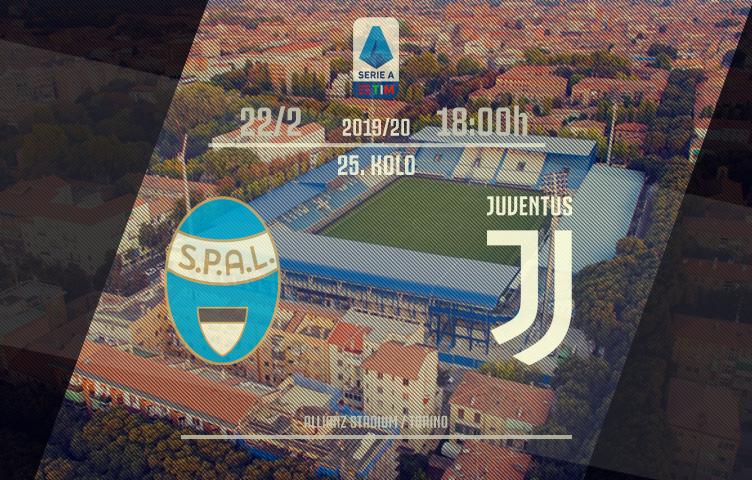 Serie A 2019/20 / 25. kolo / SPAL - Juventus, subota, 18:00h