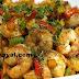 இறால் குடைமிளகாய் வறுவல் செய்வது | Shrimp capsicum Curry Recipe !
