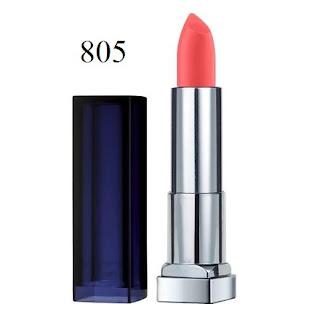 Son môi Maybelline Color Sensational The Loaded Bolds Lipstick 805 Orange Danger - SM024