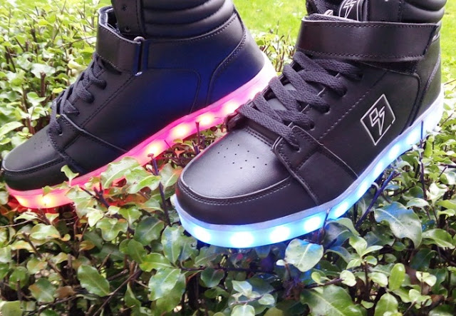 Usb Rechargeable Calorie-Free Upwards Led Sneaker Shoes Yesteryear Electrical Styles
