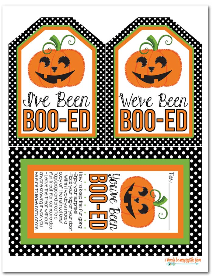 Free Boo-It-Forward Printables