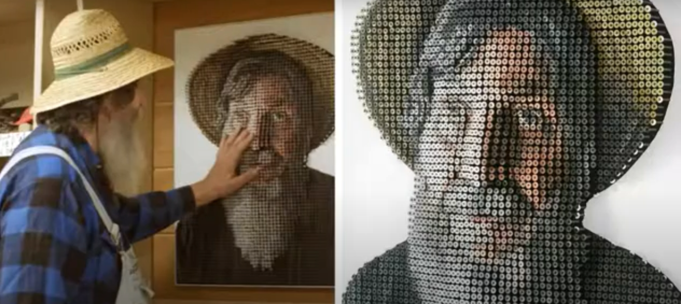 Эндрю Майерс портрет старика и старик