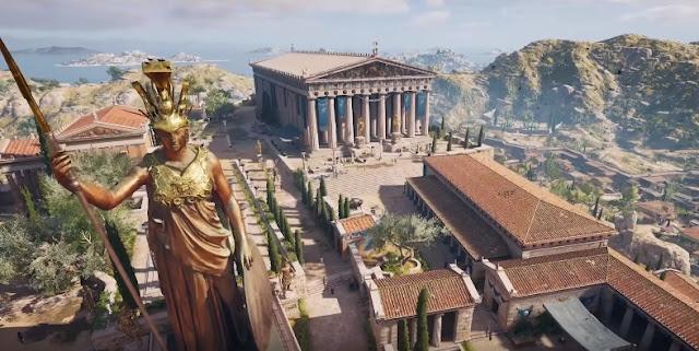 Η 3D αναπαράσταση της Αθήνας στην αρχαιότητα που δεν πρέπει να χάσετε με τίποτα (βίντεο)