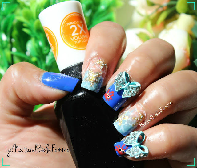 Starfish nail art