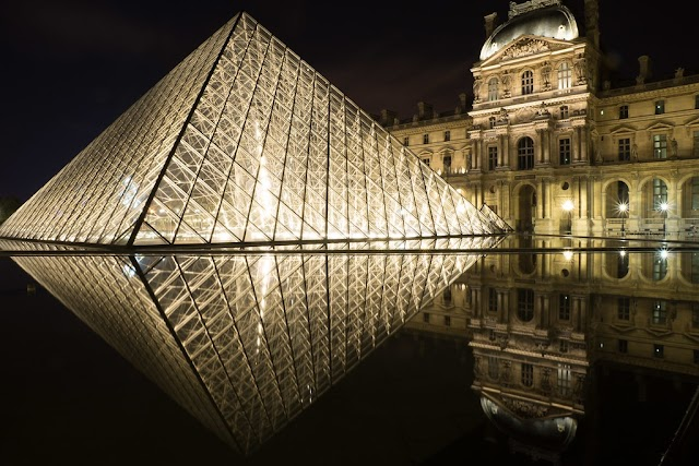The beauty of the modern pyramids