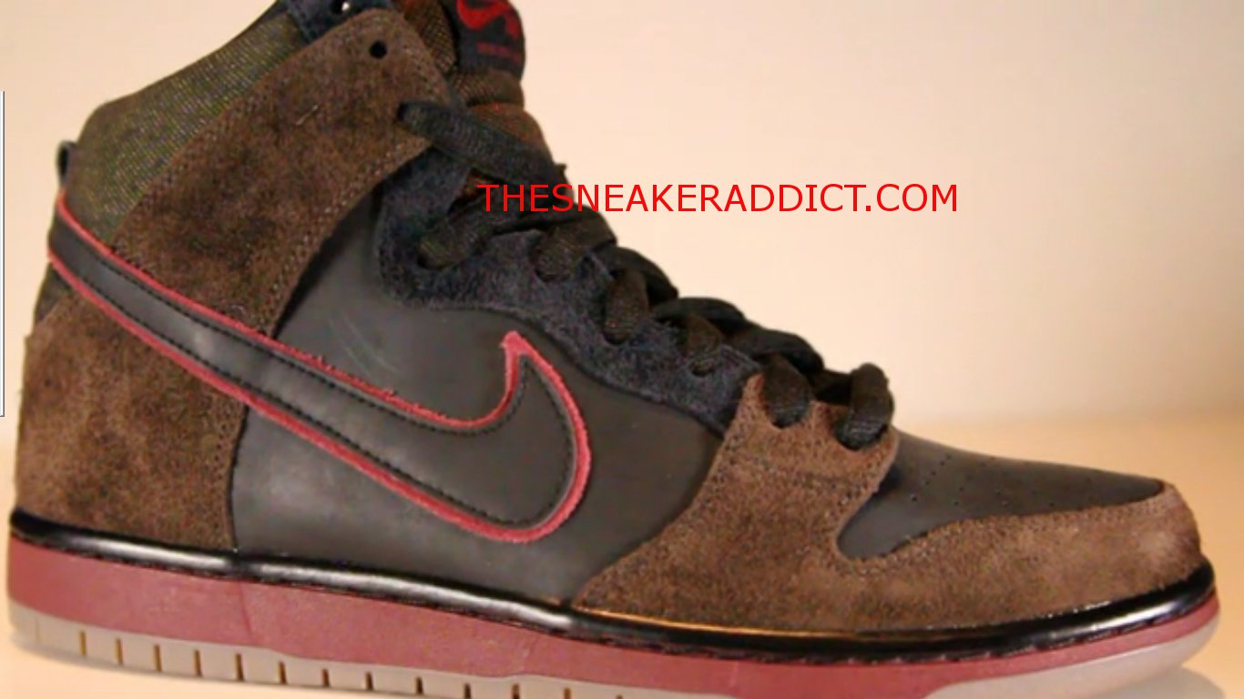 7c6b3dd2b080 Here is the Brooklyn Projects x Nike SB Dunk High  Reign in Blood Slayer   Sneaker! I have fond memorys of being at a slayer concert when I ...