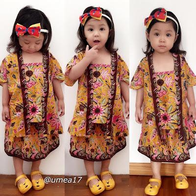 baju anak perempuan terbaru batik