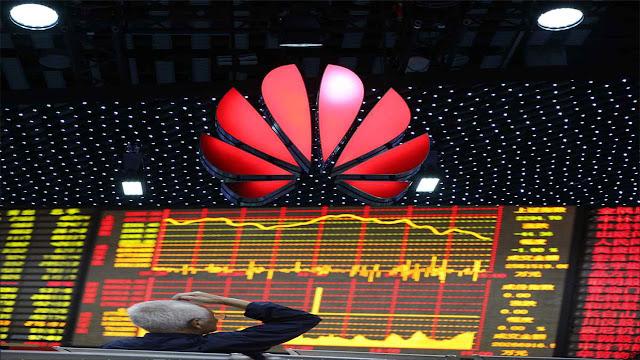 شركة هواوي تغيب عن لائحة خمس المصنعين الكبار للهواتف الذكية