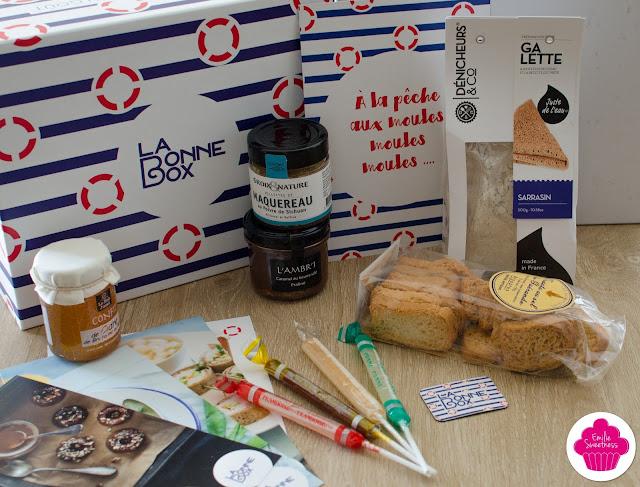 La Bonne Box d'Avril: En Avril, on jette l'ancre en Bretagne !