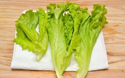 Xà lách là nguyên liệu quan trọng trong chế biến các món salad