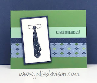 8 Well Dressed Projects ~ Stampin' Up! 2020 Sale-a-Bration ~ Masculine Cards ~ www.juliedavison.com #stampinup #saleabration
