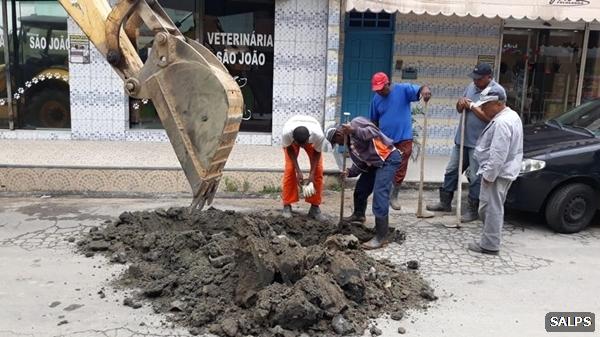 Prefeitura de São Pedro da Aldeia realiza ações de saneamento em bairros da cidade