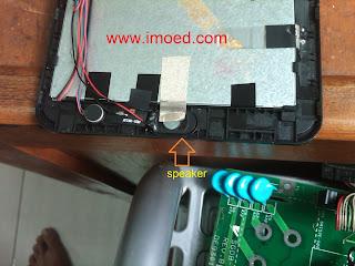 bongkar speaker tablet treq A10G