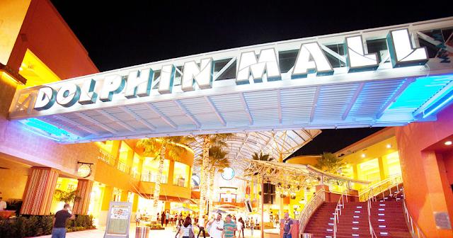 Lojas de roupas nos shoppings e outlets de Miami