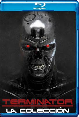 COMBO The Terminator Coleccion DVD HD Dual Latino 5.1 + Sub 3xDVD5