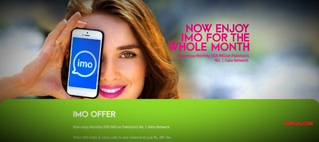 IMO Offer - Zong Internet Packages