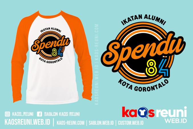 Kaos Reuni Ikatan Alumni Spendu Gorontalo - Sablon Kaos Reuni Gathering