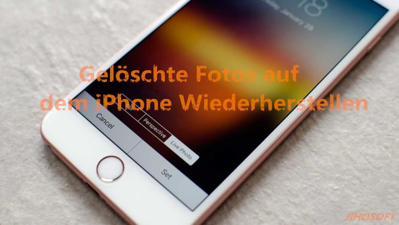 Iphone Verloren Bilder Wiederherstellen