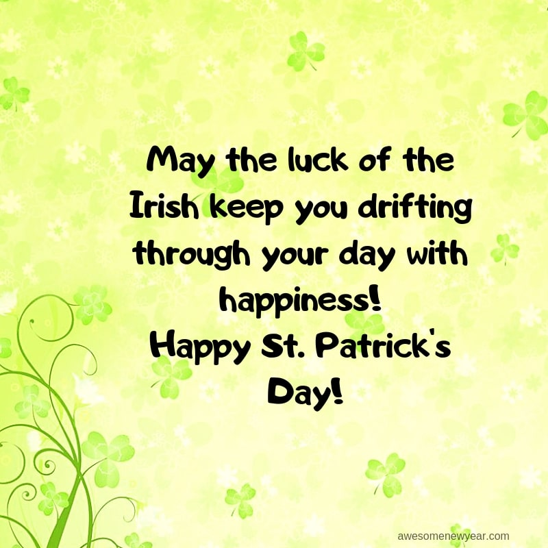Unique and Best St Patrick's Day Wishes 2019 | AwesomeNewYear.Com