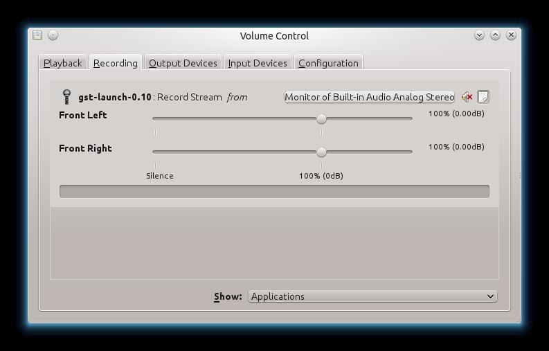 Ilektronx: Using GStreamer to Stream All Audio Captured from