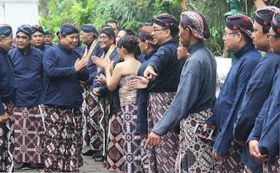 Prabowo Subianto ziarah ke makam Raja Mataran Imogiri