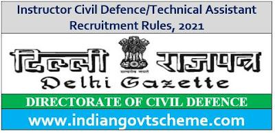 Instructor Civil Defence