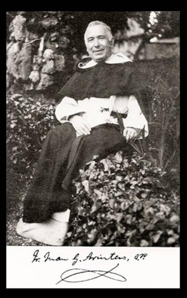 Santos, Beatos, Veneráveis e Servos de Deus: Servo de Deus Juan González  Arintero (Padre Arintero) , presbítero dominicano, apóstolo do amor  misericordioso e diretor espiritual de muitas almas santas.