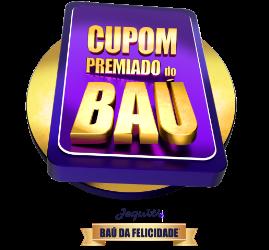 Cupom Premiado Baú SBT