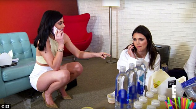 Kendall Jenner screams at Rob for re-gifting her present to Blac Chyna