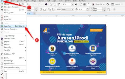 Cara Save File CorelDraw Agar Bisa Dibuka Disemua Versi