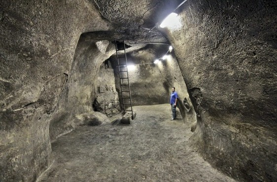 Depósito de agua del Primer Templo de Jerusalén