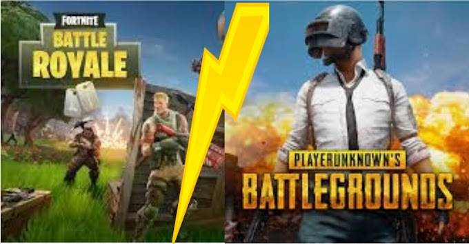 PUBG v.s Fortnite | which game wins? Game reviews