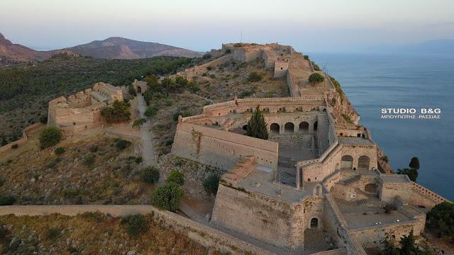Ναύπλιο: Έρχεται σύντομα δωρεάν ασύρματο Internet στο κάστρο του Παλαμηδίου