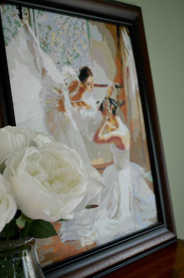 Ballerina Paint on wall