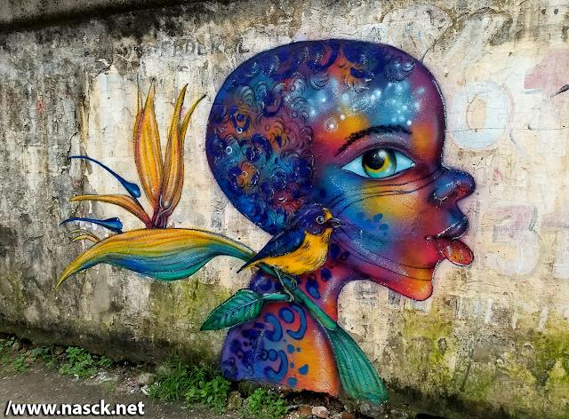 Graffiti em Salvador Bahia