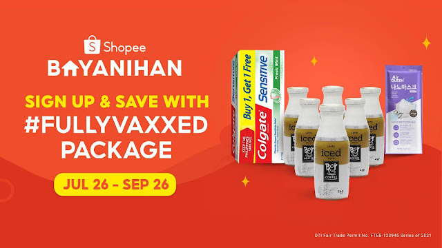 Get Protected, Be Rewarded! Check Out Shopee's #FullyVaxxed Package
