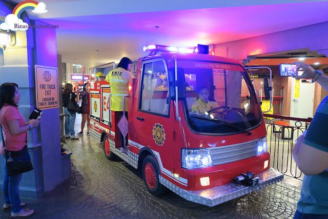 Kidzania Manila Fire truck