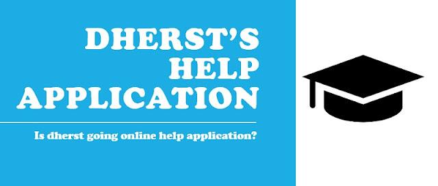 2021 - 2022 DHERST HELP load application