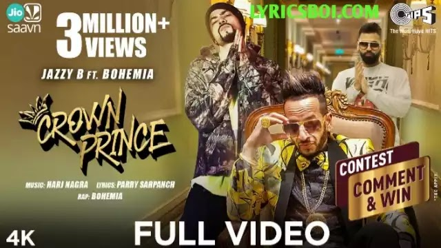 Crown Prince Lyrics Jazzy B ft Bohemia