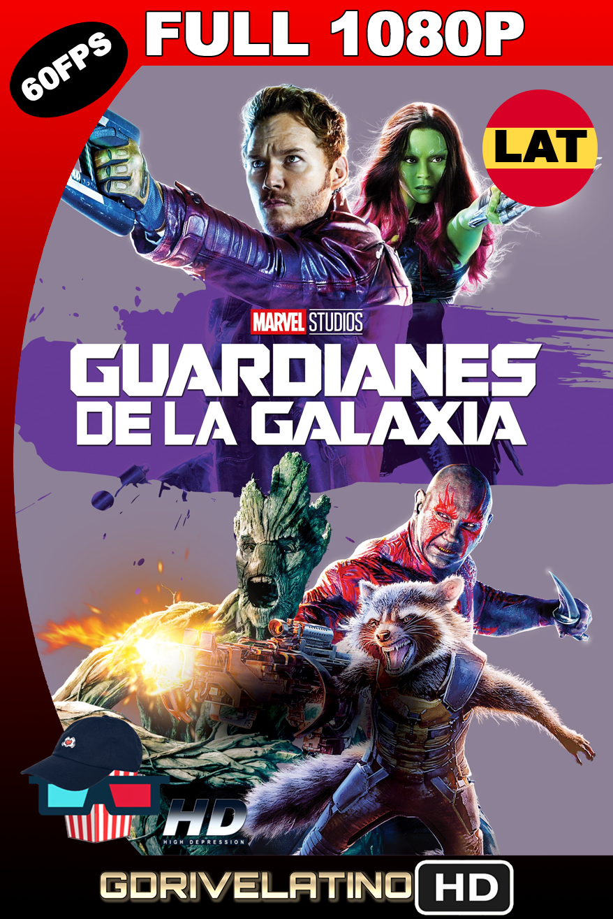 Guardianes de la Galaxia (2014) IMAX BDRip FULL 1080p (60 FPS) Latino-Ingles MKV