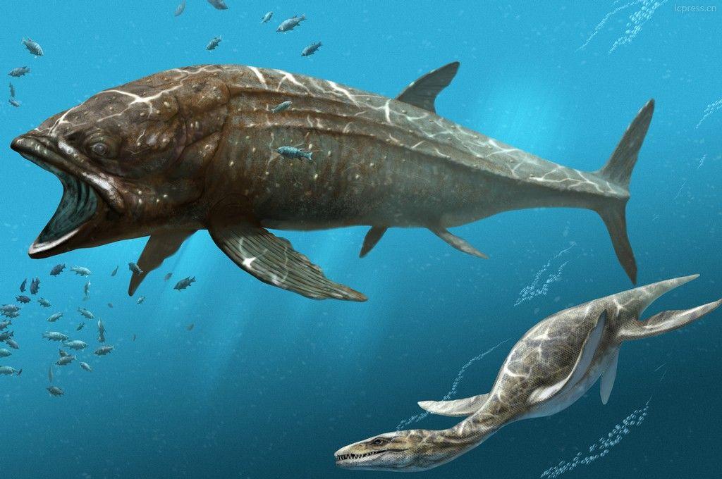 Pez prehistórico Leedsichthys