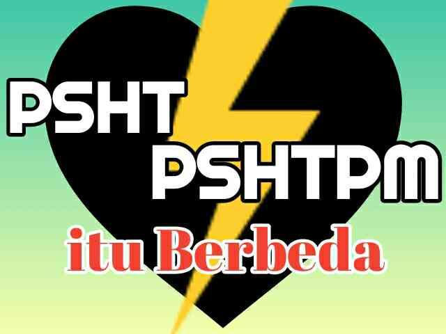 PSHT dan PSHTPM itu Beda