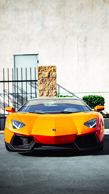 Lamborghini Aventador sports car wallpaper